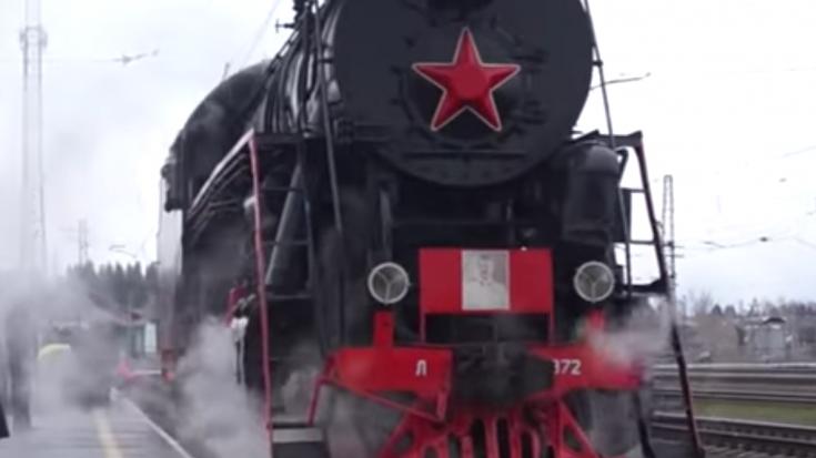 Russian Class L Locomotive From The Cab   Train Fanatics Videos