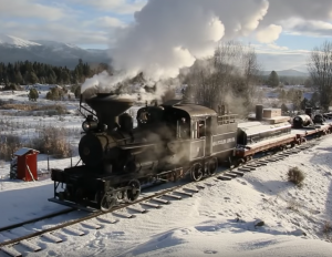 Sumpter Valley Railroad Steam