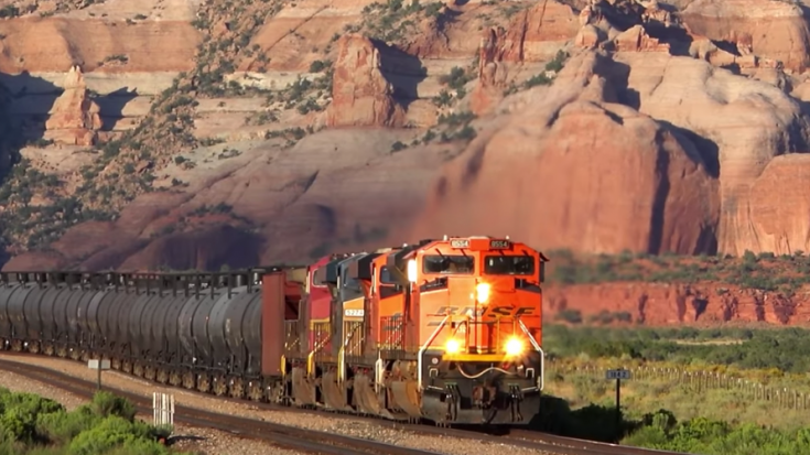 BNSF Freight Action In New Mexico | Train Fanatics Videos