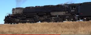 Big Boy #4014 Barrels Past Cheyenne Wells