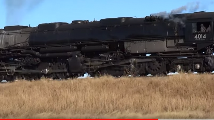 Big Boy #4014 Barrels Past Cheyenne Wells | Train Fanatics Videos
