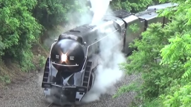N & S J611 On The Linden Grade | Train Fanatics Videos