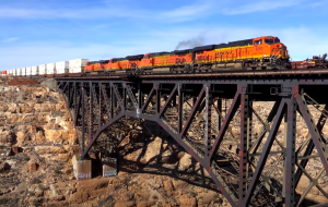 BNSF On The Southern Transcon