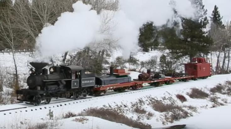 Sumpter Valley Heisler #3 And Mikado #19 | Train Fanatics Videos