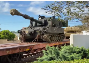 Military Train – Repositioning Tanks
