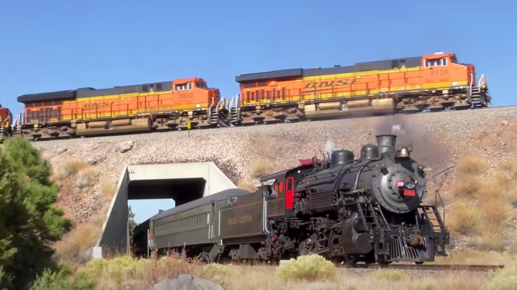 The Historic Grand Canyon RR | Train Fanatics Videos