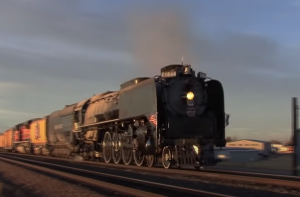 Union Pacific #844 Sunset Run To Cheyenne