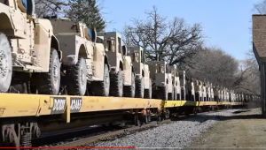 Military Move – Humvee's