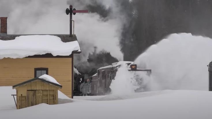 Cumbres & Toltec Rotary Action | Train Fanatics Videos