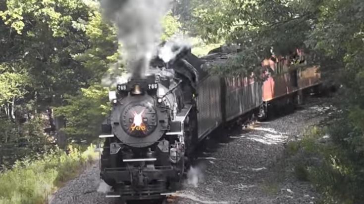 NKP #765 In Letchworth Park | Train Fanatics Videos