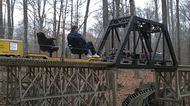 Massive 82 Car Backyard Layout | Train Fanatics Videos
