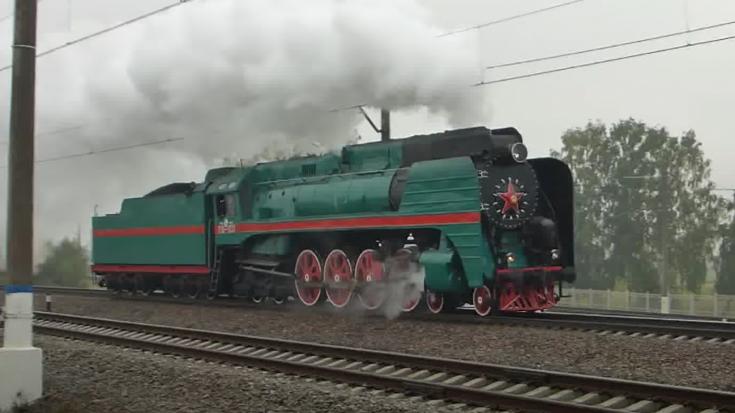 Russian Steamers On Parade | Train Fanatics Videos