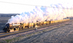 Union Pacific's  #4014  &  #844 Celebration