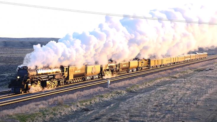Union Pacific's  #4014  &  #844 Celebration | Train Fanatics Videos