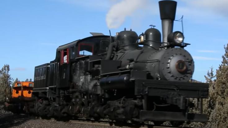 The Mount Emily Shay #1 Steam Locomotive | Train Fanatics Videos