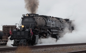 Union Pacific Big Boy #4014 & UP 844 Steam Show