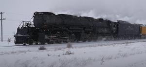Pacing Big Boy #4014 Revenue Run In Winter