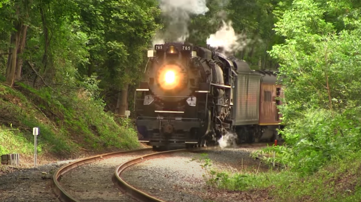 Nickle Plate # 765  Berkshire Type 2-8-4 | Train Fanatics Videos