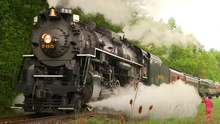 NKP #765 In The Cuyahoga Valley | Train Fanatics Videos