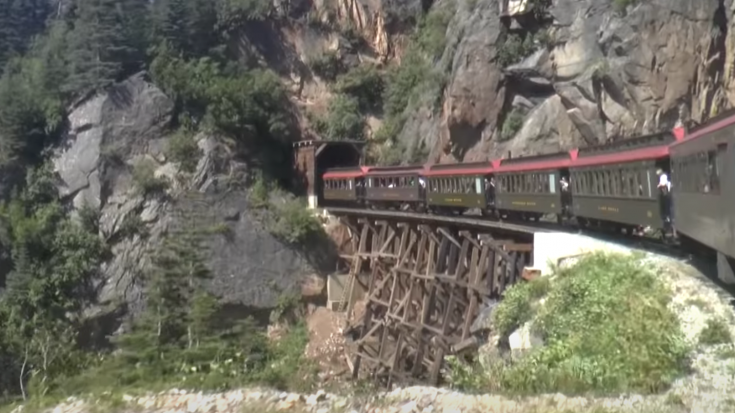 Yukon & White Pass Railroad   Train Fanatics Videos
