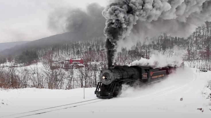 Western Maryland's Consolidation #734 | Train Fanatics Videos