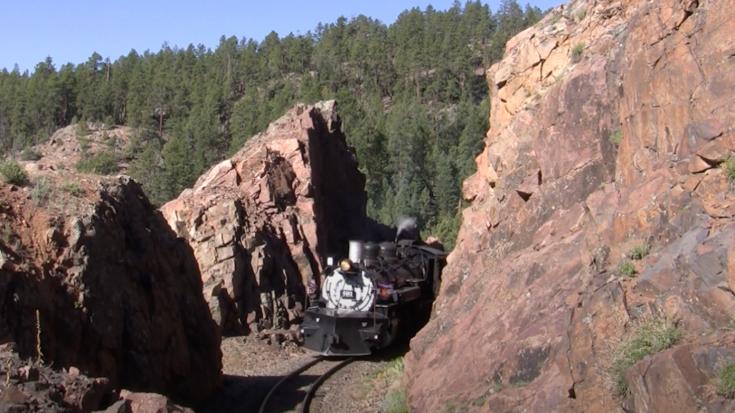Durango & Silverton Animas River Route | Train Fanatics Videos