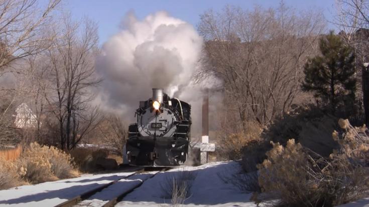 Slow Pacing The D&RGW #493 | Train Fanatics Videos