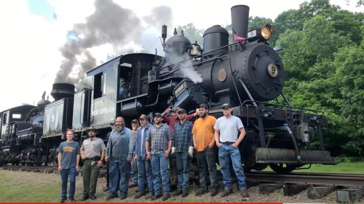 Cass Scenic Railroad Steam Show | Train Fanatics Videos