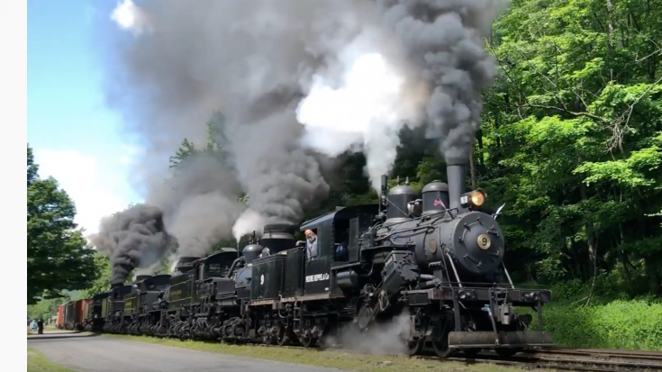 Cass Scenic Railroad Parade of Smoke & Steam | Train Fanatics Videos