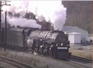 Norfolk & Western's #1218 Back In Time