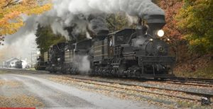 Cass Scenic Railroad Smoke And Whistles