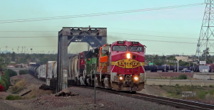 BNSF Colorful Lash Up In Phoenix
