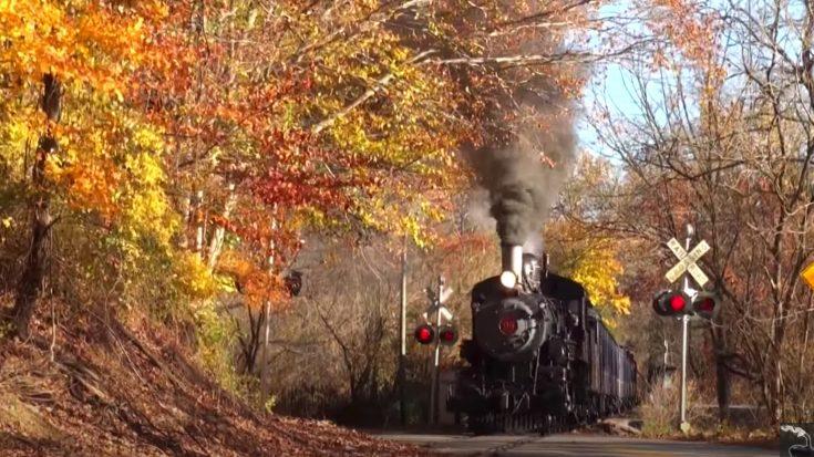 Wilmington & Western Fall Foliage Special | Train Fanatics Videos