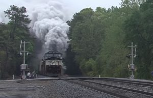 Norfolk Southern Diesel Surprise !