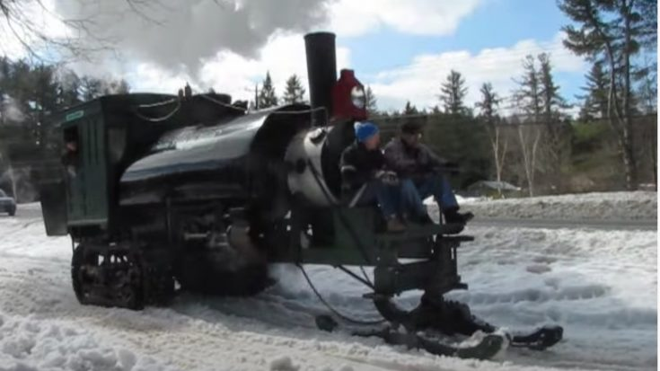 The Lombard Steam Log Hauler | Train Fanatics Videos