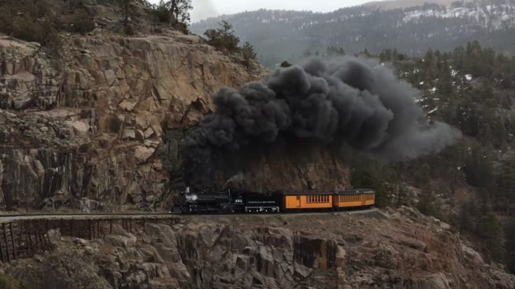 D&SNGRR #493 Rounding The Point | Train Fanatics Videos