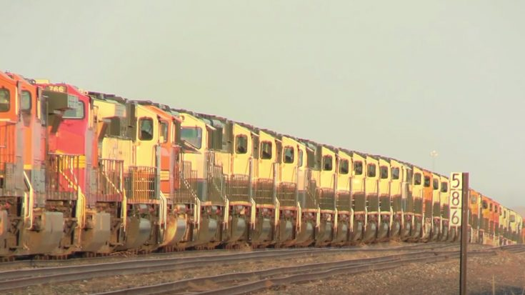 Diesel Parking Lot | Train Fanatics Videos