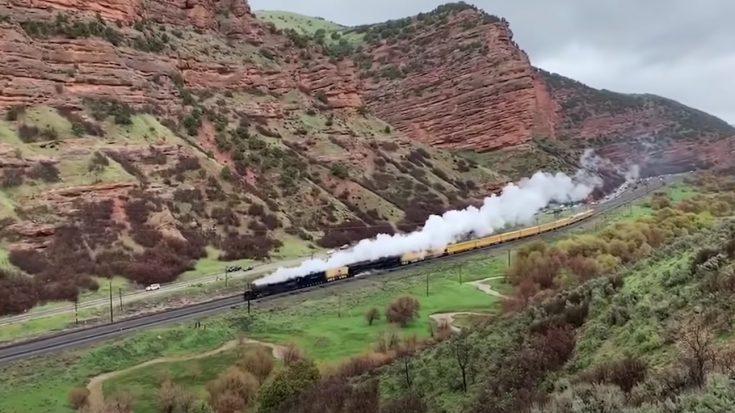 UP #4014 & UP #844 Travel Beautiful Utah | Train Fanatics Videos
