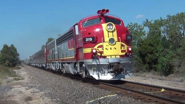 Santa Fe Warbonnet F7 | Train Fanatics Videos