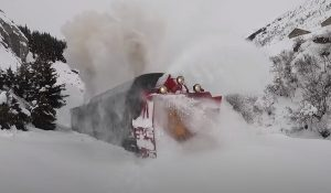 107 Year Old Snow Plow Running Again