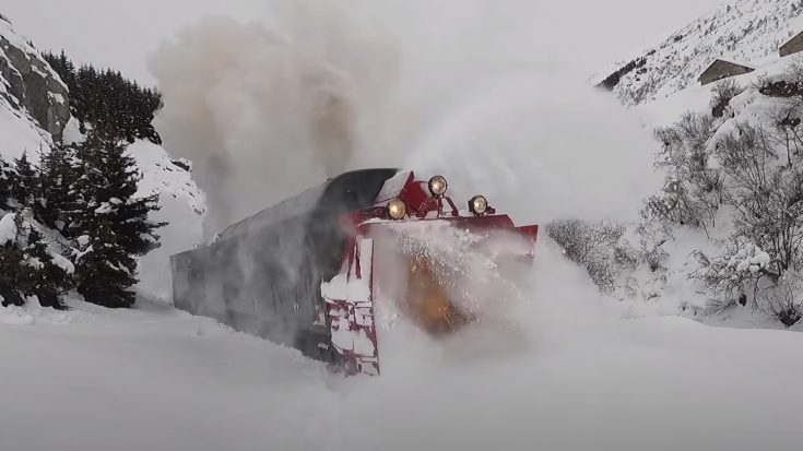107 Year Old Snow Plow Running Again | Train Fanatics Videos