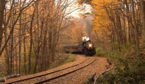 Spectacular Fall Colors With WMSR #734
