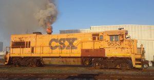 CSX 9553 Cold Start