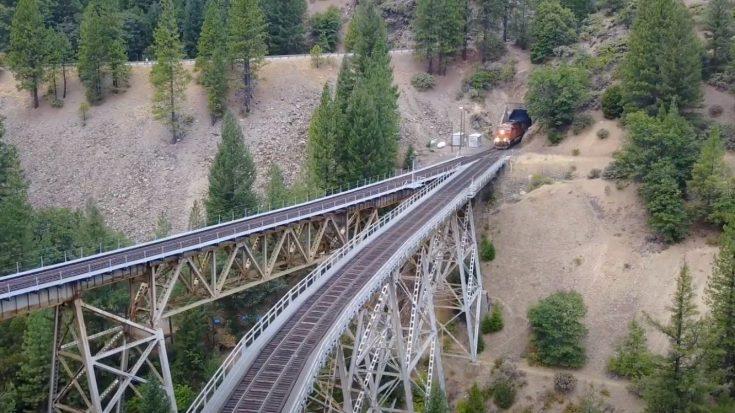 The Keddie Wye | Train Fanatics Videos