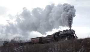 Western Maryland's #734 Winter Journey