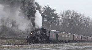 Strasburg Railroad #89 Snow Journey