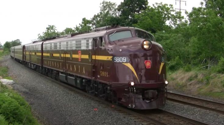 Pennsylvania Railroad's E8 Locomotive | Train Fanatics Videos