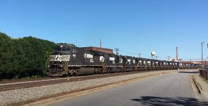 Norfolk Southern Funeral Move