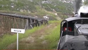 White Pass & Yukon Railroad #73