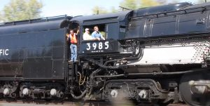 Pacing Union Pacific's #3985 Locomotive